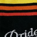 fabric detail of Team Pride - LGBTQ+ Pride Knee High Socks Rainbow - Junior's