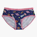 Glazed Galaxy - Donut Hipster Underwear Blue - Sizes XS-3XL in Blue