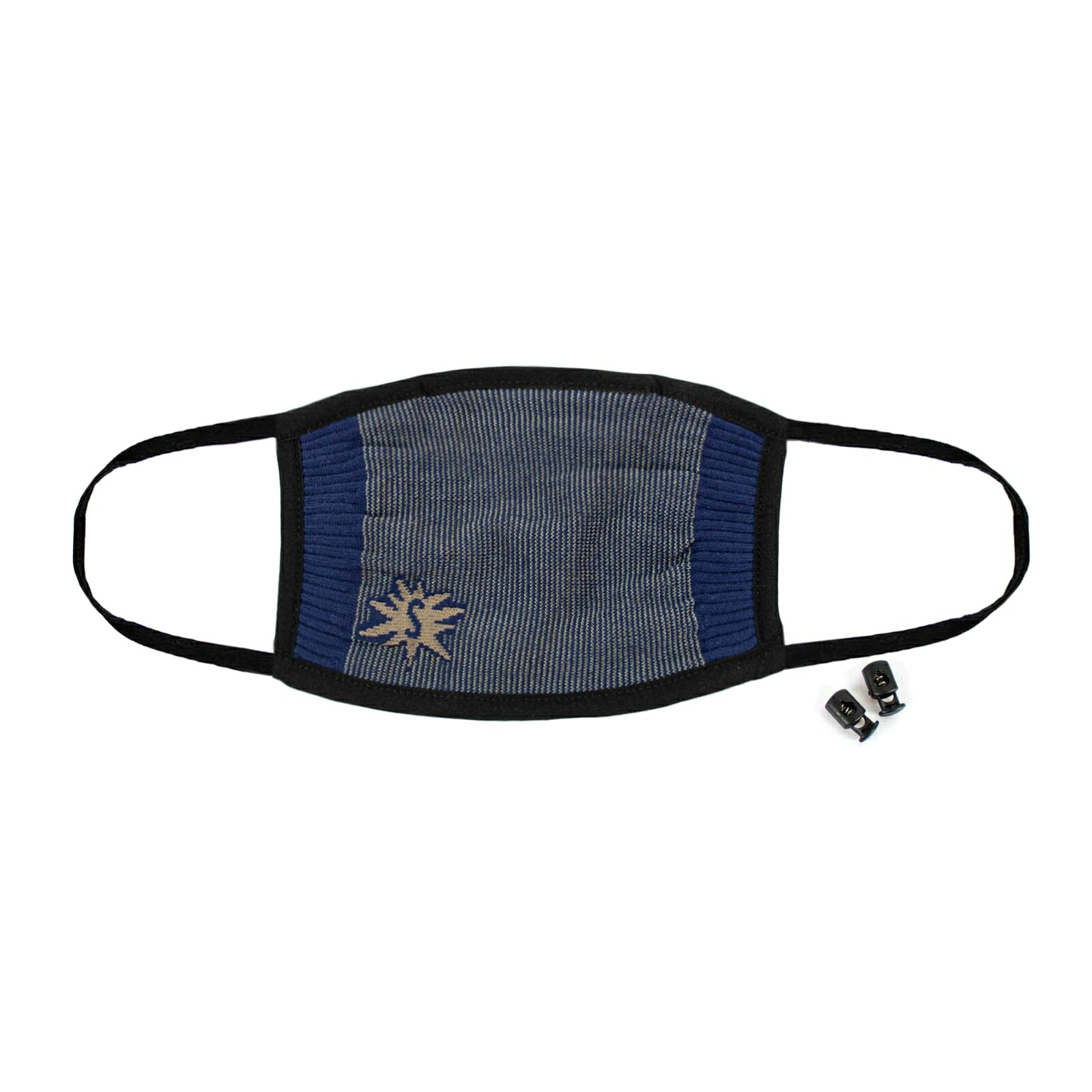Indigo Blue - Solid Color Face Masks Blue - Unisex in Navy