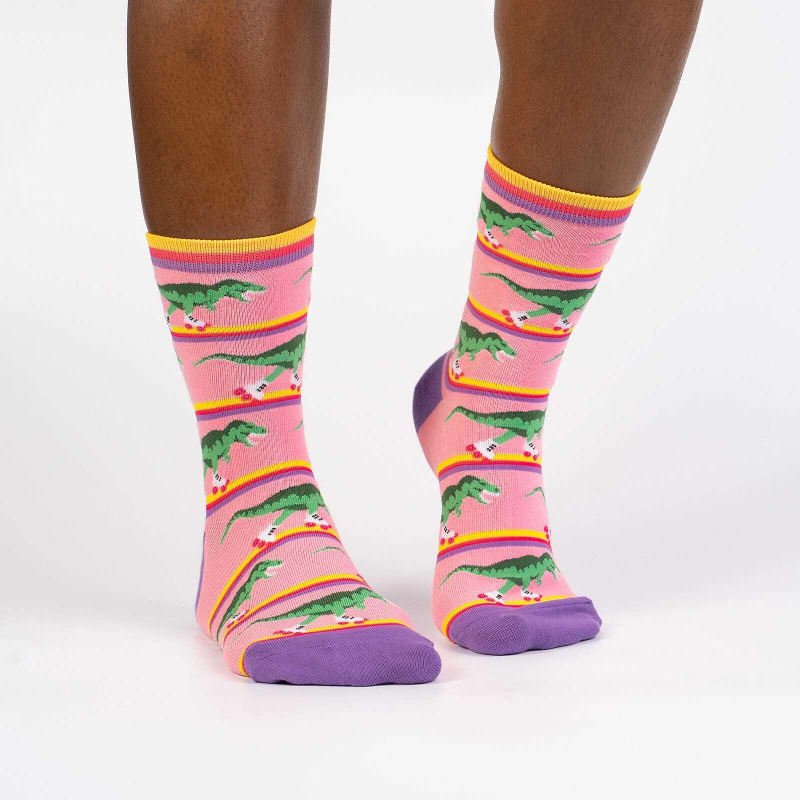 Rawr-ler Rink Women's Crew Socks