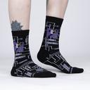 Mother of Computers - Ada Lovelace Black Women's Crew Socks - Sock It to Me in Black